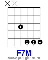 моё море noize аккорд F7M