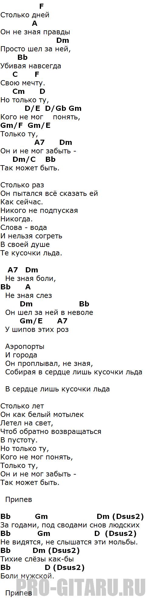 агутин аэропорты аккорды