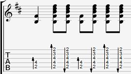 браво 36 гитарный бой