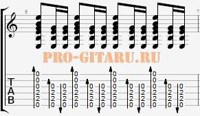 гитарный бой 7б