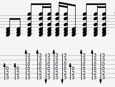 гитарный бой, аккорды