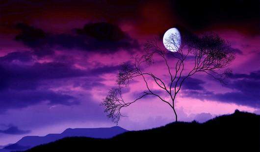 на сиреневой луне аккорды