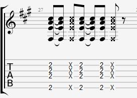 Катушкин гитарный бой