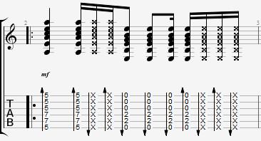 а-студио гитарный бой