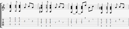 гитарный бой каста