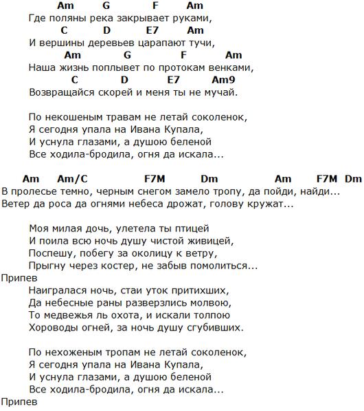 уматурман аккорды