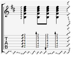 вниз головой аккорды