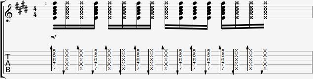 Моральный кодекс Каприз аккорды