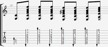 Дурак и Молния аккорды