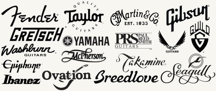 Выбор бренда гитары