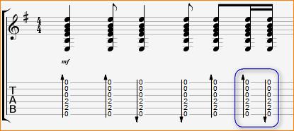 гитарный бой максим припев