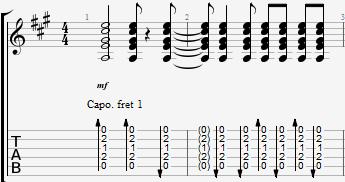 зарисовка привет аккорды