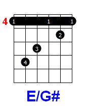ддт осенняя аккорды E/G#
