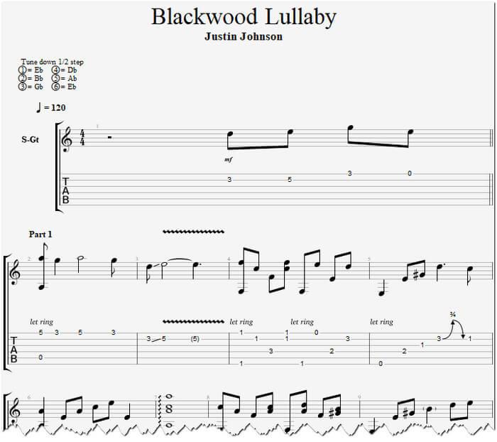 Blackwood Lullaby табы